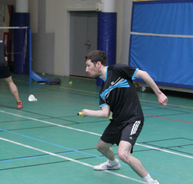 Tournoi interne de double 2015